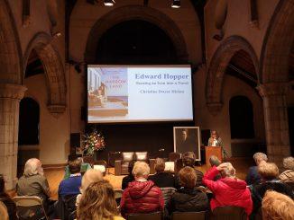Edward Hopper talk stage