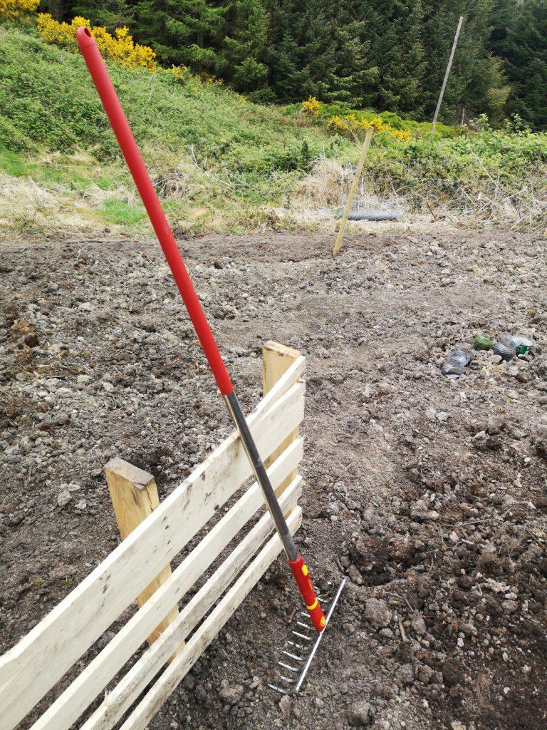 Fully-assembled rake